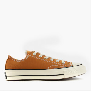 Converse Chuck 70 Recycled Canvas Ox Trainers - Dark Soba