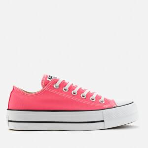 Converse Women's Chuck Taylor All Star Lift Ox Trainers - Hyper Pink