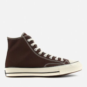 Converse Men's Chuck 70 Canvas Hi-Top Trainers - Dark Root