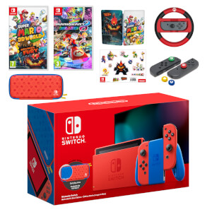 Nintendo Switch Mario Red & Blue Edition Mega Pack