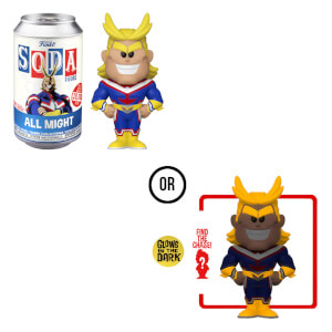 My Hero Academia All Might Vinyl Soda in a Collector Can