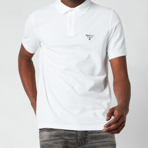 Barbour Beacon Men's Polo Shirt - White