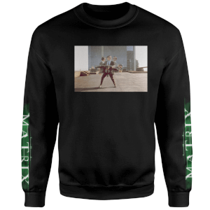 The Matrix Code Sweatshirt - Noir