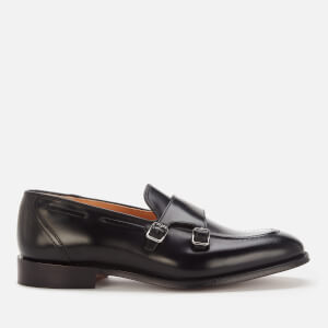 Church's Men's Clatford Polished Leather Monk Shoes - Black