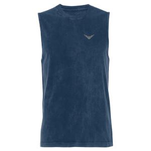 Harry Potter Golden Snitch - Navy Acid Wash Men's Vest