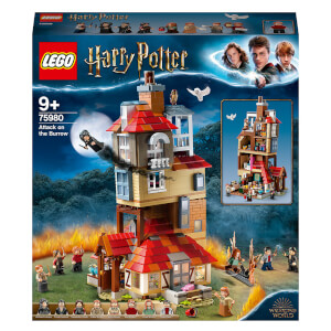LEGO Harry Potter: Attack on the Burrow Weasley House Set (75980)