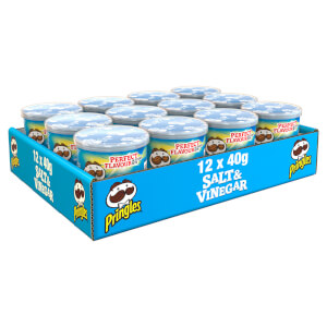 Pringles Salt & Vinegar 12 x 40g