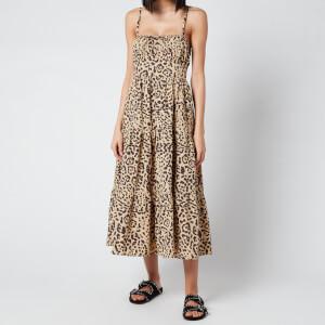 Faithful The Brand Women's Alexia Midi Dress - Shamari Animal Print