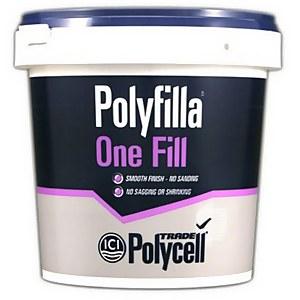Polycell Trade One Fill Polyfilla - 1L