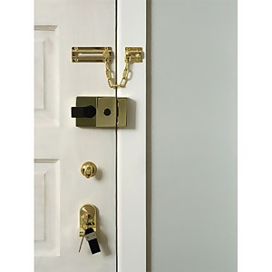 Yale 89 Deadlocking Nightlatch 60mm - Brass