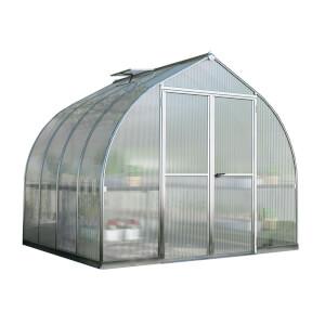 Palram Bella Silver Greenhouse - 8 x 8ft