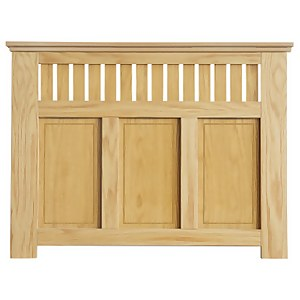 Wilton Radiator Cabinet Oak FSC - Medium