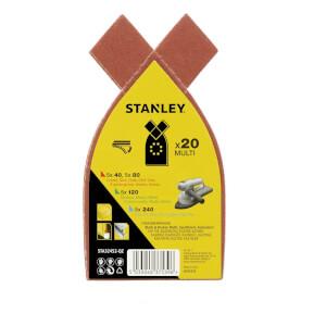 Stanley Multisander Sheet Spar Pack of 20 - STA32452-QZ