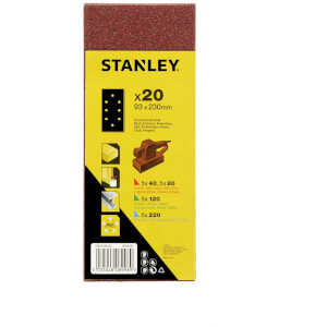 Stanley 1/3 Sheet Punched Wire Clip Pack - STA31338-QZ
