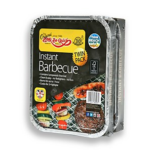 Bar-Be-Quick Instant Barbecue FSC (pack of 2)