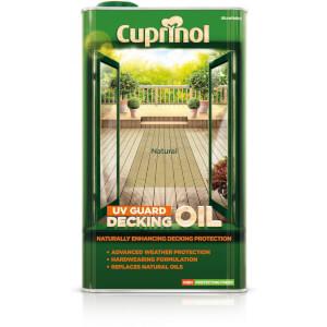 Cuprinol UV Guard Decking Oil - Natural - 5L