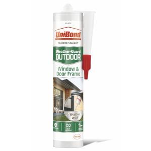 UniBond Sealant Window and Door Outdoor Cartridge White 392g