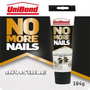 UniBond No More Nails Grab Adhesive Tube Invisible 184g