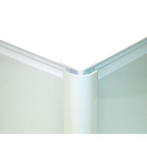 Zenolite Colour Matched PVC External Corner - 250cm - Glacier