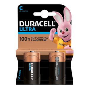 Duracell Ultra MX 1400 C - Pack of 2