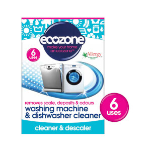 Ecozone Washing Machine And Dishwasher Cleaner - Pack of 6