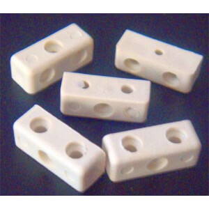 Fixing Block - White - 100 Piece