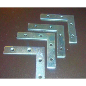 Corner Plate - 63mm - 4 Piece