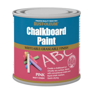 Rust-Oleum Chalkboard Pink - 250ml
