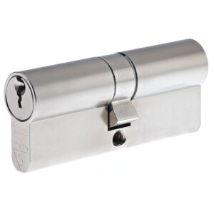 Yale Kitemarked Euro Double Cylinder - 40:10:50 (100mm) - Nickel Plated