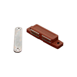 Magnetic Catch - Brown - 70 x 16 x 15mm x 1