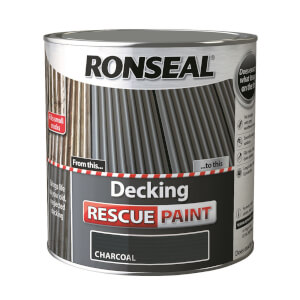 Ronseal Decking Rescue Paint Charcoal - 2.5L