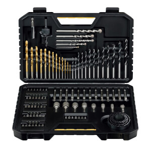 Stanley 100 Piece Drilling Accessory Set - STA7205
