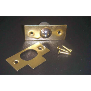 Bales Catch - Brass - 19mm