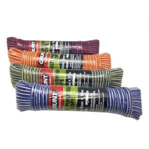GRUNT Multi Colour Rope 6mm x 15m