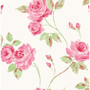 Fine Decor Romance Wallpaper - Pink