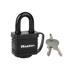 Master Lock Weathertough Laminated Lock - 40mm