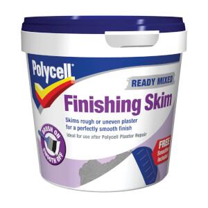 Polycell Finishing Skim Ready Mix Polyfilla - 1L