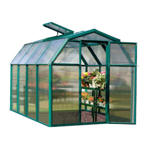 Rion Eco Grow 6 x 8ft Green Greenhouse