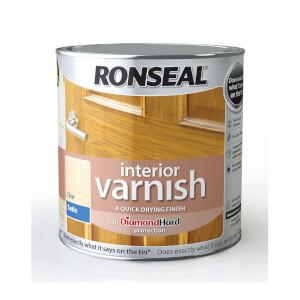 Ronseal Interior Varnish Satin - 2.5L