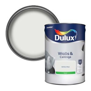 Dulux White Mist - Silk Emulsion Paint - 5L