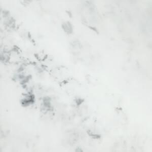 Minerva Carrara White Kitchen Upstand - 305 x 7 x 1.2cm