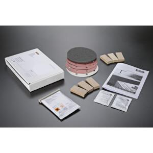 Minerva Carrara White Kitchen Worktop - Joint Kit