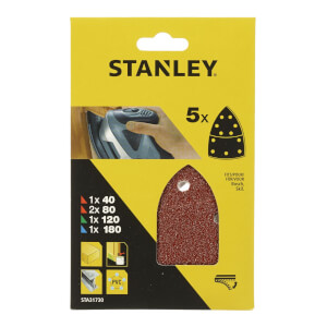 Stanley Detail Sander Sheets Mixed Pack - STA31730-XJ