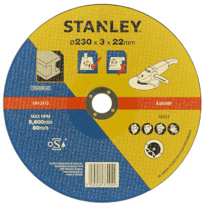 Stanley 230mm Metal Cutting Disc - STA32040-QZ