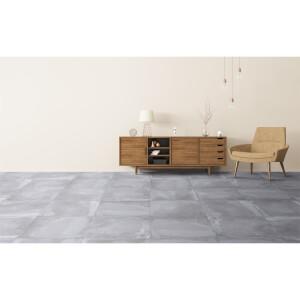 Metropolitan Grey Wall & Floor Tile - 60 x 60cm - 3 pack