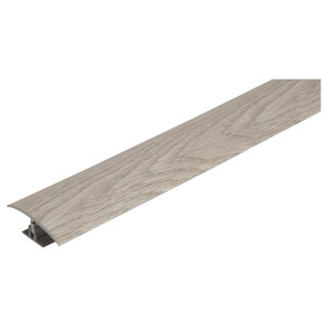 Variable Height Flooring Threshold - Light Grey 0.9m x 50mm