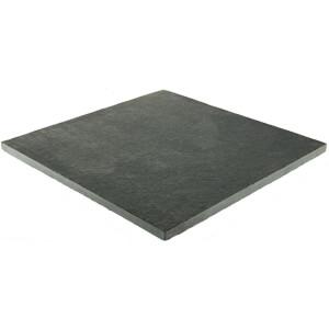 Stylish Stone Sawn Limestone 400 x 400mm - Charcoal