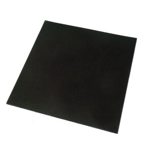 Multi-purpose Black Rubber Paver
