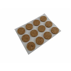 Protective Pad Cork 13mm - 24 Pack