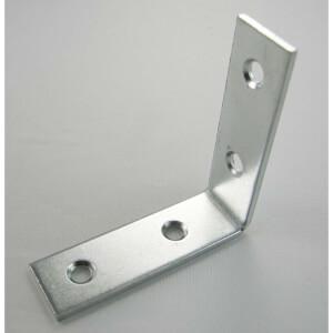 Corner Brace Zinc 50mm - 2 Pack